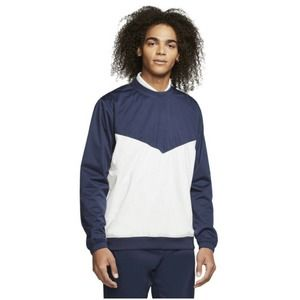 Nike Shield Victory Golf Crew Pullover Windshirt